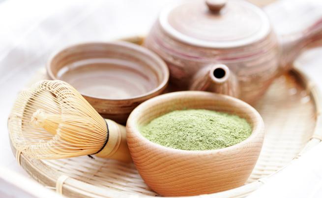 bevande dimagranti con benefici del tè matcha