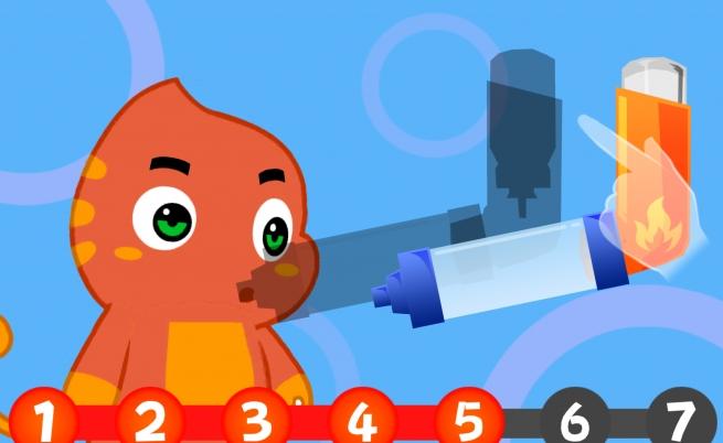 Un videogame per insegnare ai bambini a combattere l'asma