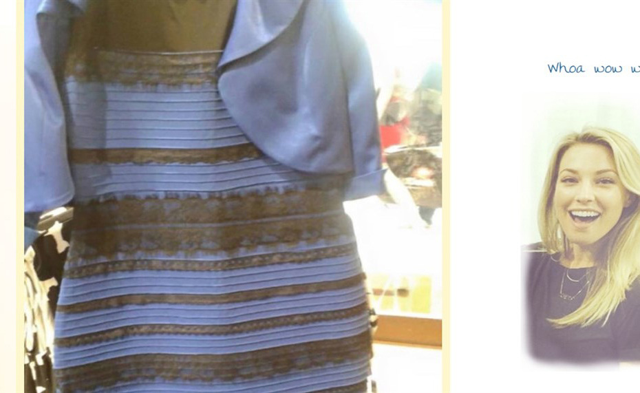 Oro e bianco o nero e blu? Svelato il mistero del vestito cangiante