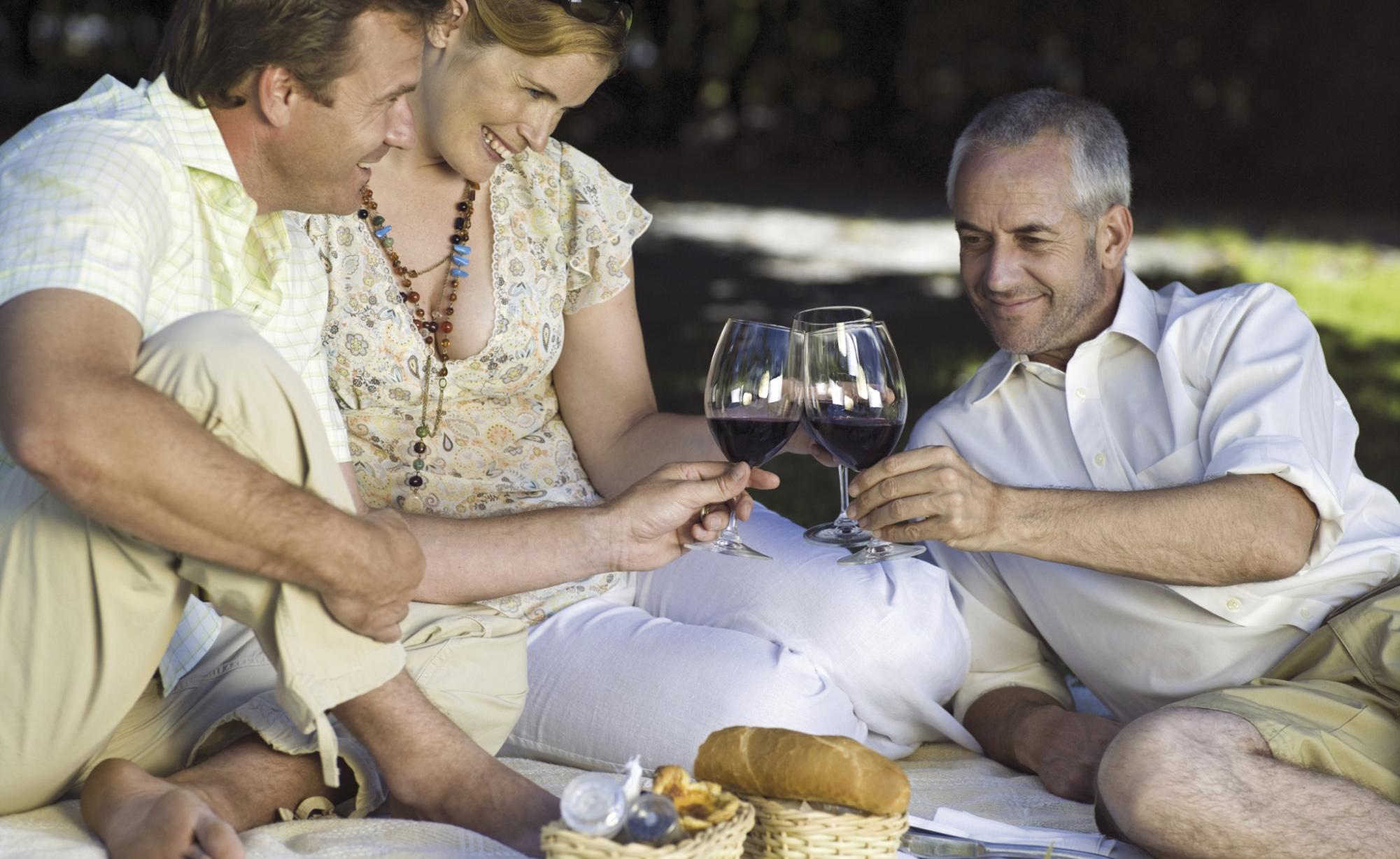 Il vino rosso, un aiuto contro la perdita di memoria