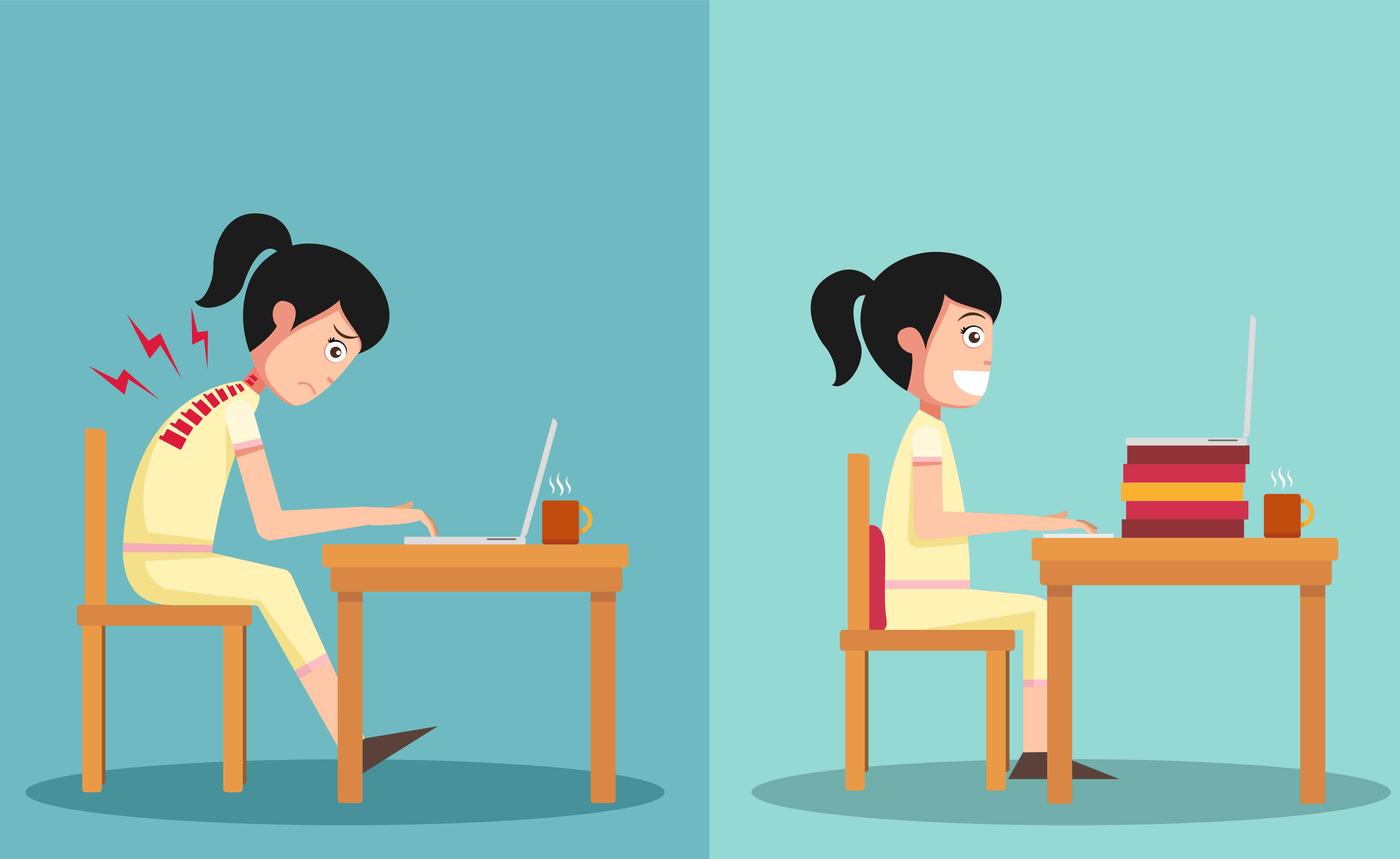 Come migliorare la postura in 3 settimane