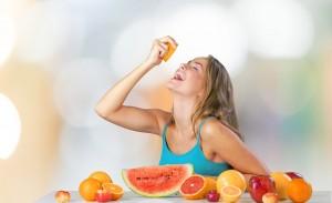 Pelle in estate: dieta sana