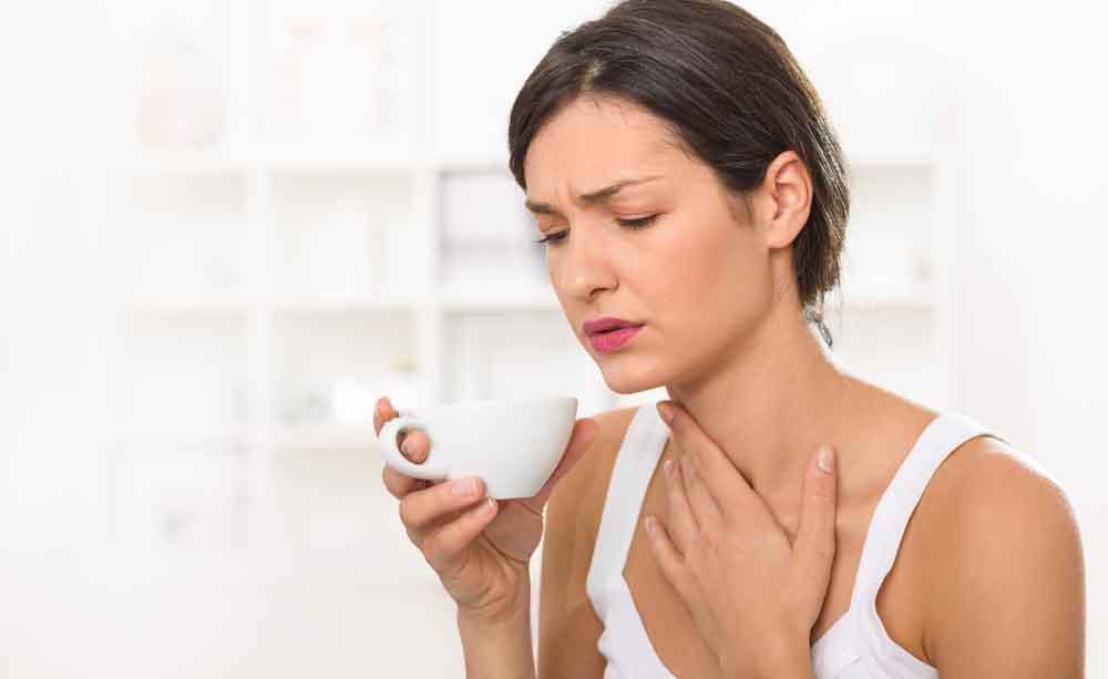 La causa del mal di gola non è sempre la stessa