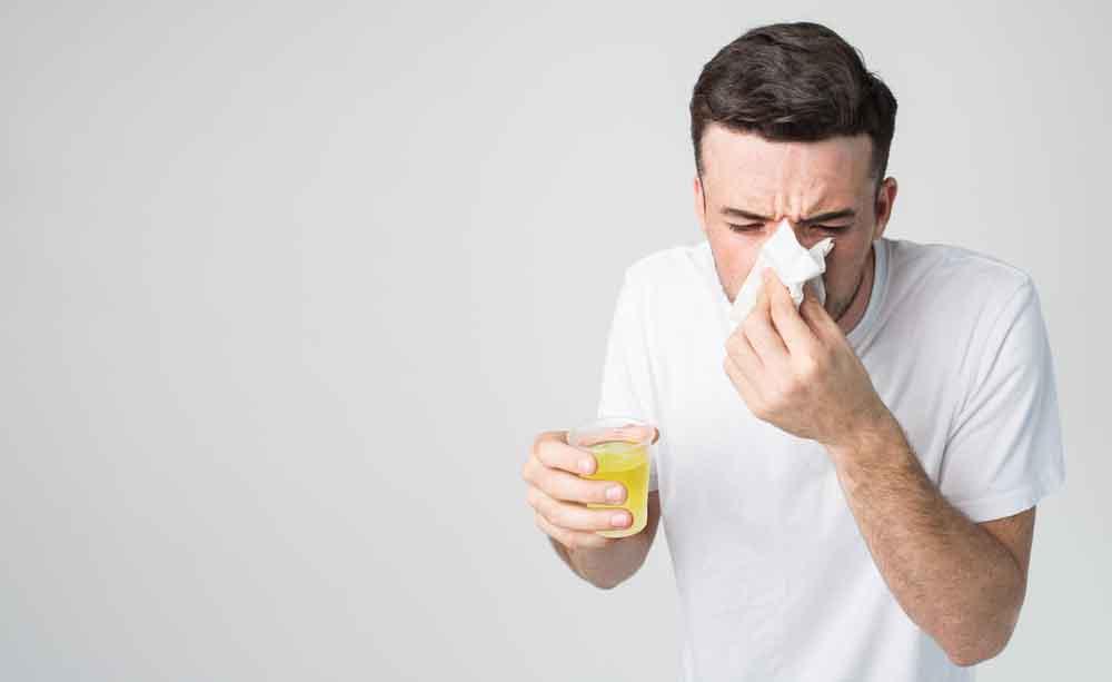Perché il naso cola quando si è ammalati?
