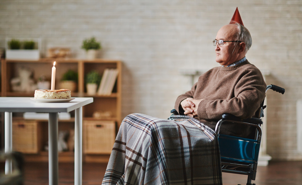 I rischi della solitudine nell'anziano