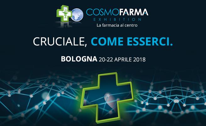 20-22 aprile: al via Cosmofarma, si riunisce a Bologna il mondo della farmacia