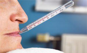 febbre senza sintomi: le cause