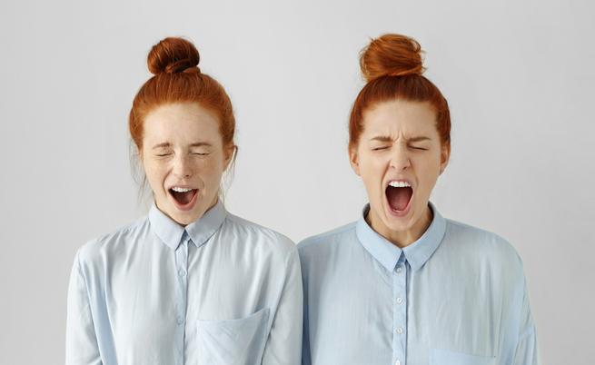 Avete accanto una persona stressata? È per questo che siete nervosi