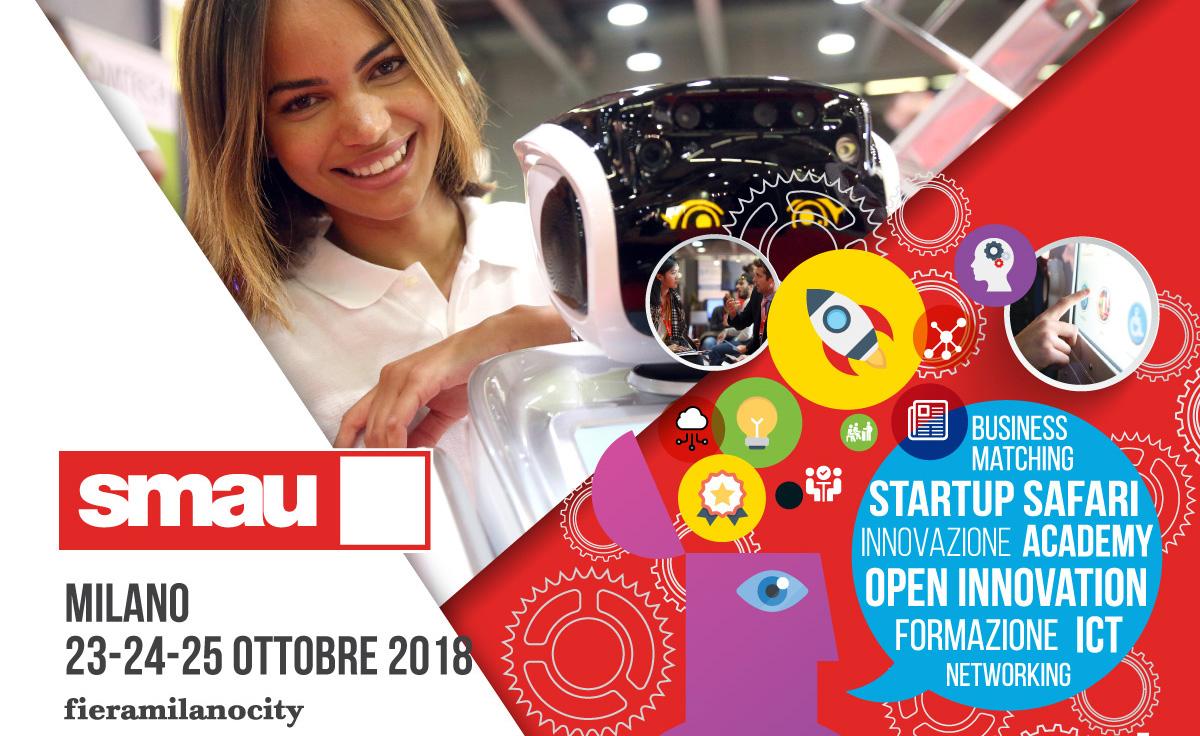 SMAU 2018, un evento dedicato all'innovazione 💻 Scarica il tuo ingresso omaggio!