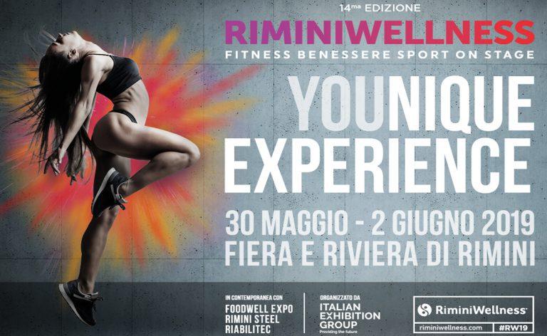 Fitness, cibo sano e tanto divertimento a RiminiWellness 2019: ci saremo anche noi!